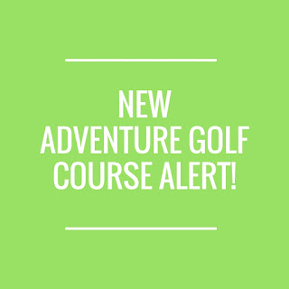 There's a new Adventure Golf course at Fantasy Island in Ingoldmells