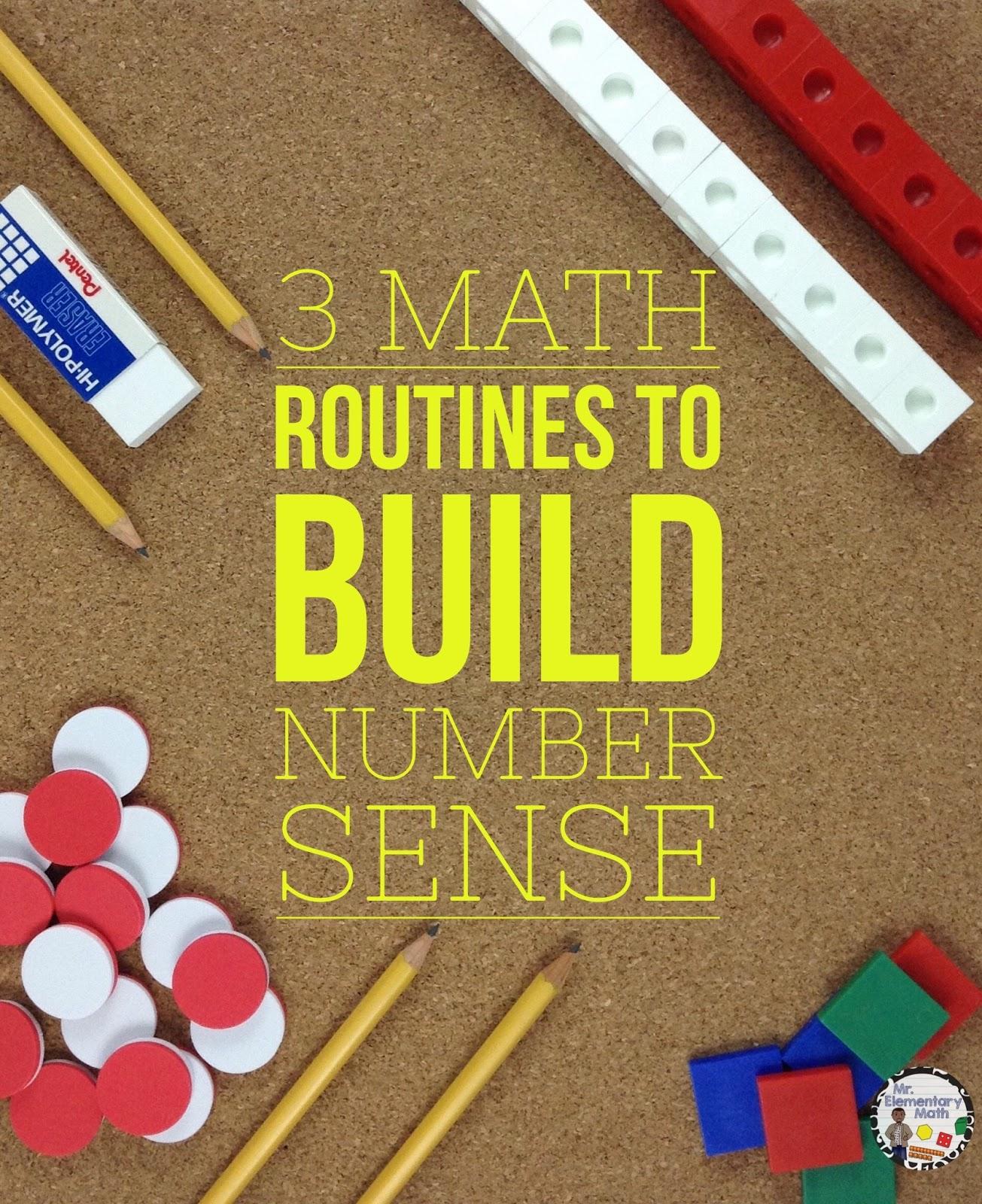 Mr Elementary Math Buzz Worthy Ideas