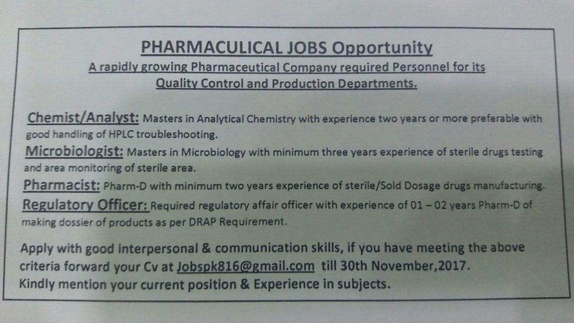 Pak Job Market: 2017