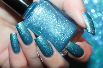 "Swatch of the nail polish ""Walk This Way"" from Indigo Bananas"