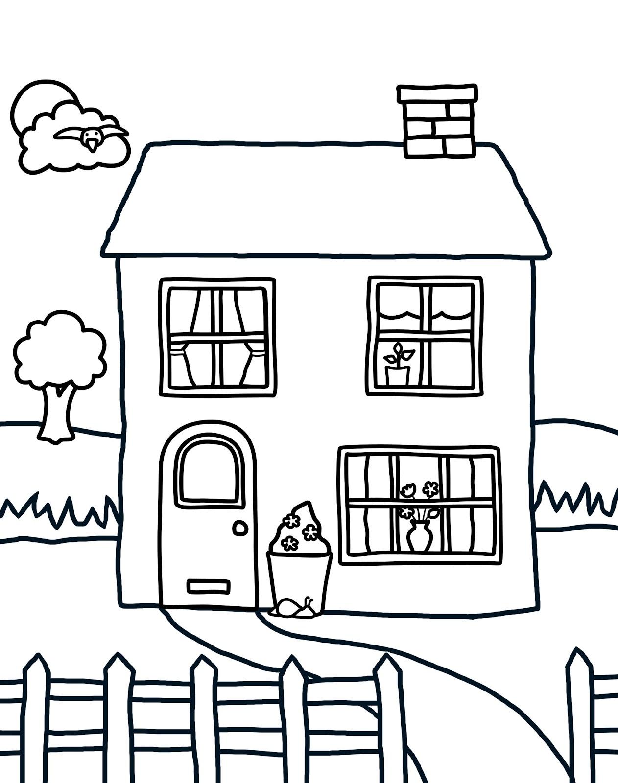 48 Mewarnai Rumah
