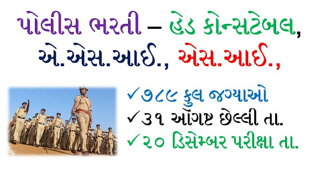 Head Constable, SI, ASI And Other Posts Recruitment In Central Reserve Police Force