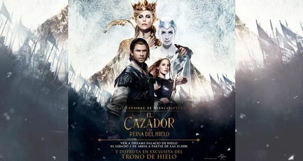 """Trono de Hielo """"El Cazador y la Reina de Hielo"""""""