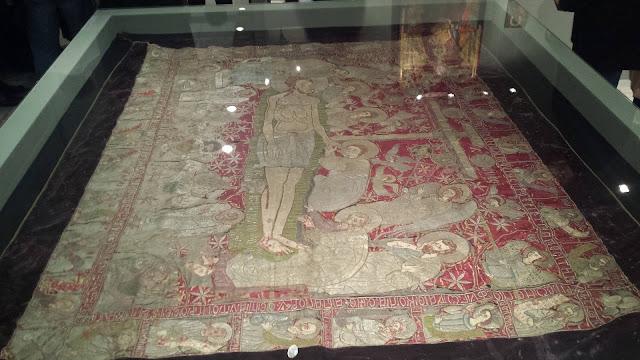 Για πρώτη φορά εκθέτεται ο μοναδικός και ανεκτίμητης άξιας χρυσοκέντητος επιτάφιος του 1578 της Παραμυθιάς