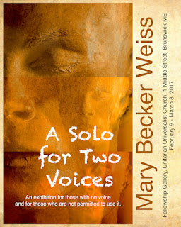 A Solo for Two Voices @ UU Church Brunswick ME, February 2017