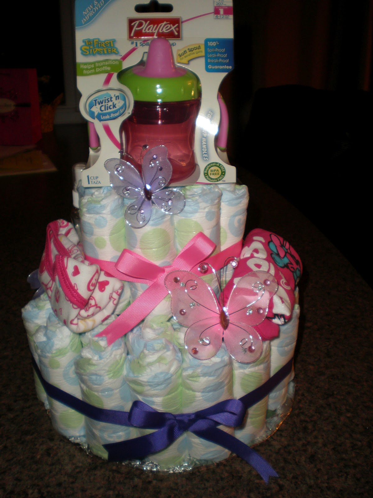 Nj Crafty Momma Make Your Own Diaper Cake