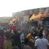 APC members in Bakin Kasuwa, Zaria burn their brooms as they join PDP