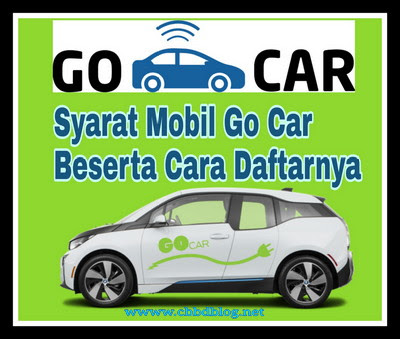 Syarat mobil gocar 2019