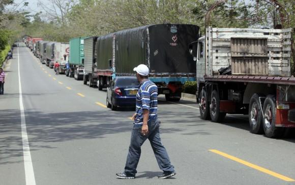 El gobierno no puede aun levantar paro camionero