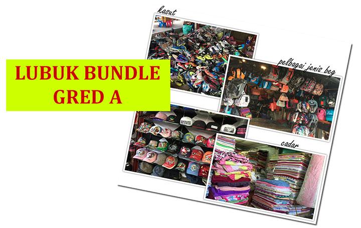 Lubuk dapatkan barang bundle gred A