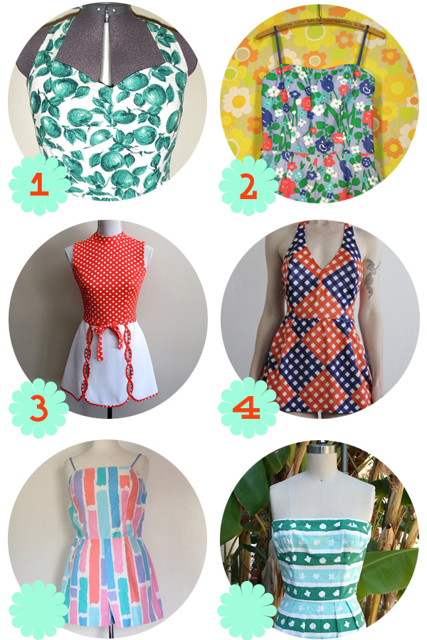 a9a05de4bda Oh So Lovely Vintage  Playful vintage playsuits!