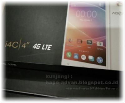 Advan i4C - HP 4G LTE 700 Ribuan Terbaru Juni 2016