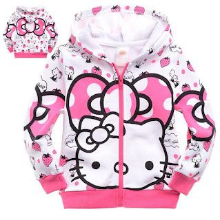 Gambar Jaket Hello Kitty Untuk Anak 2