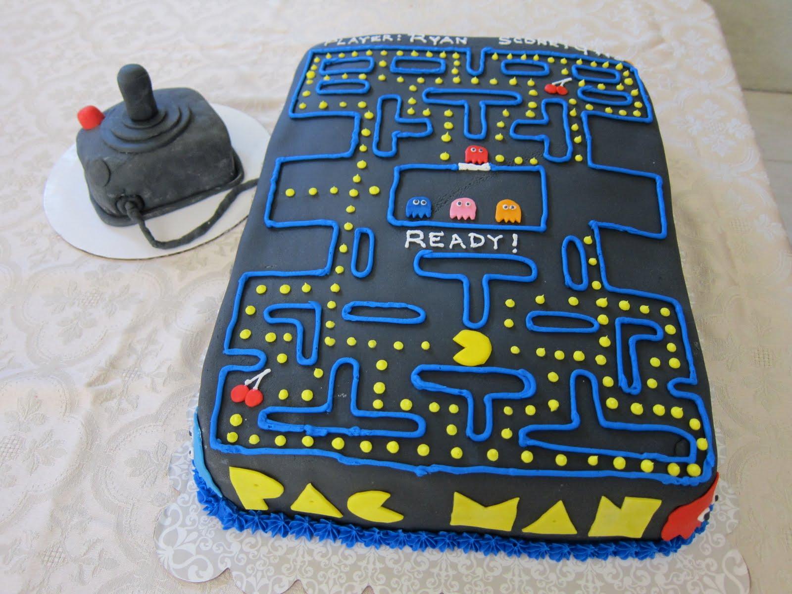 Claudia S Cakes Pac Man Cake