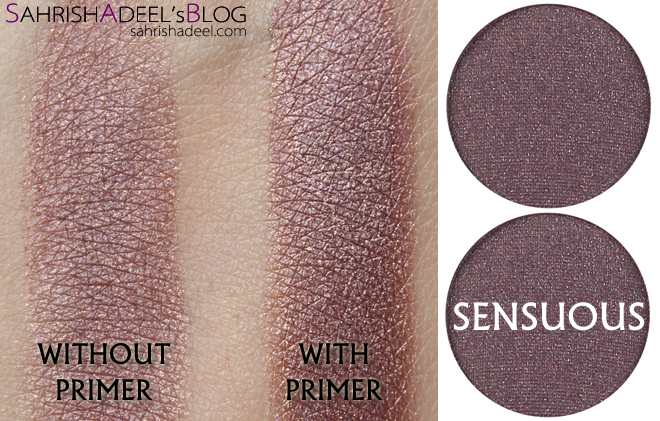 Makeup Geek Pressed Eyeshadows - Sensuous