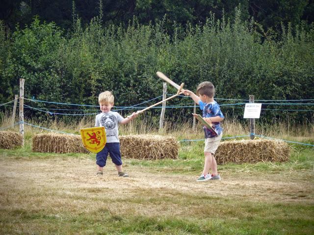 England's Medieval Festival Herstmonceux 2016 children
