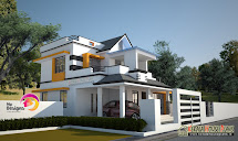 3 Bedroom 2 Story House Design Kerala Plans