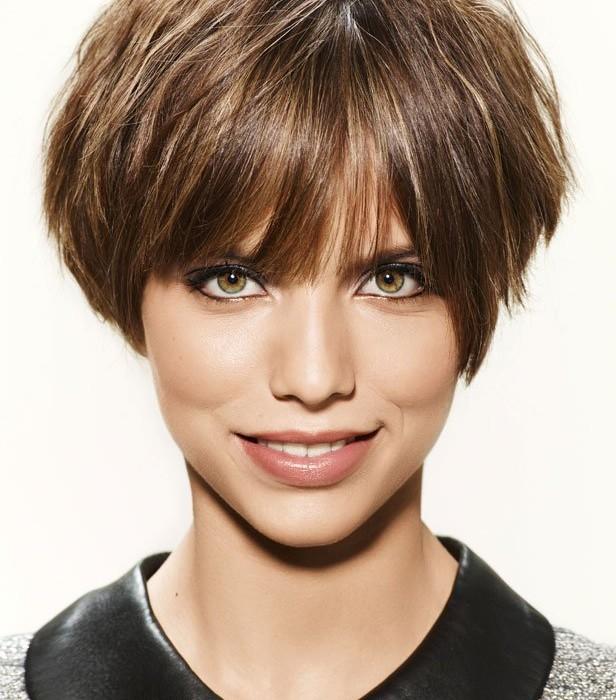 moda en tu cabello: Sencillos cortes de pelo corto para mujeres 2016