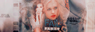 BC: Gossip Girl - Fail Party (Laura)