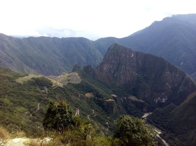 veduta di Machu Picchu