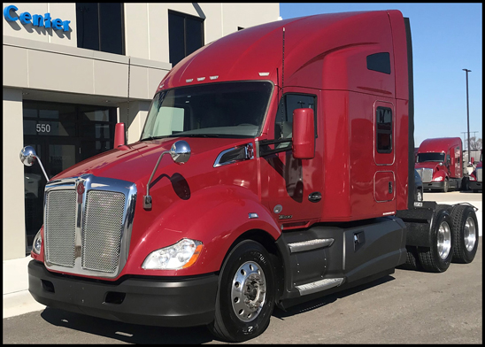 Certified Pre-Owned Kenworth T680 that will be at  the 2018 Mid-America Trucking Show