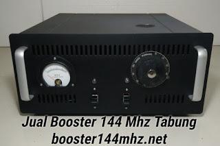 Booster 144 Mhz Tabung 600 W Lengkap dengan Power Supply Tinggal Colok Listrik