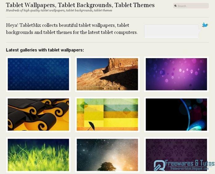 Tabletmix des fonds d 39 cran pour les tablettes - Open office gratuit pour tablette ...