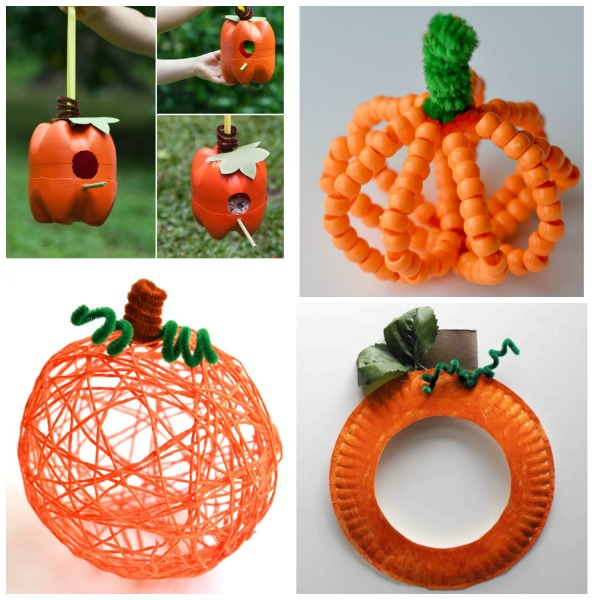 This is a graphic of Priceless Pumpkin Crafts for Toddlers