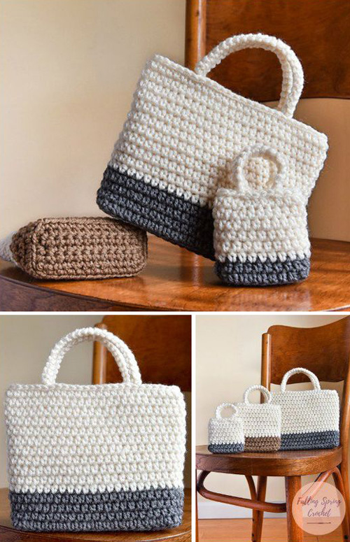 Easy Gift Bag - Free Crochet Pattern