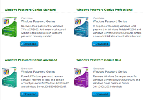 windows password recovery tool standard full version download