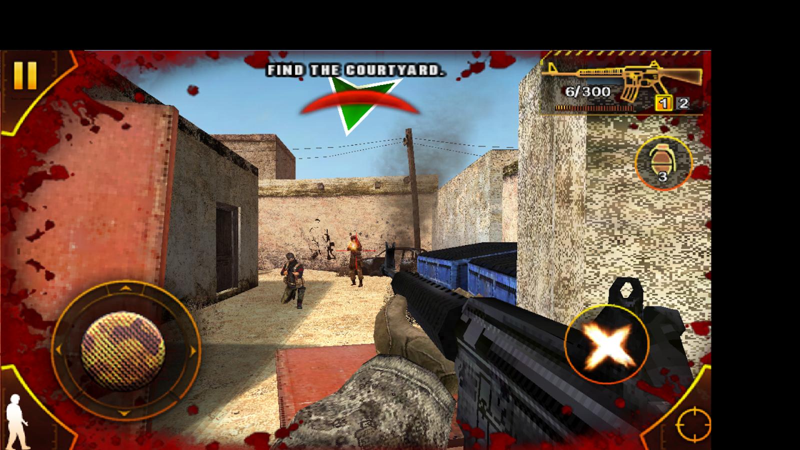 Download Game Android HD Modern Combat 1 Sandstrom APK ...
