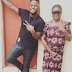 Check out this cute photo Young Skales and his mum