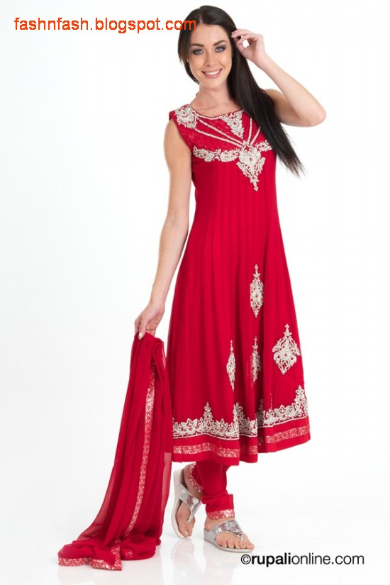 Fashion Amp Fok Anarkali Umbrella Pishwas Frocks Fancy