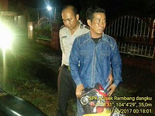 Warga Desa Tebat Agung Ini, Ditangkap Polisi