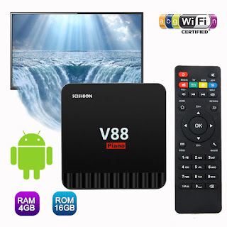 TV BOX V88 PIANO 4GB RAM