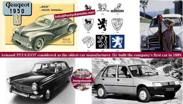 Classic cars, Armand Peugeot considered as the oldest car manufacturer. He built the company's first car in 1889.