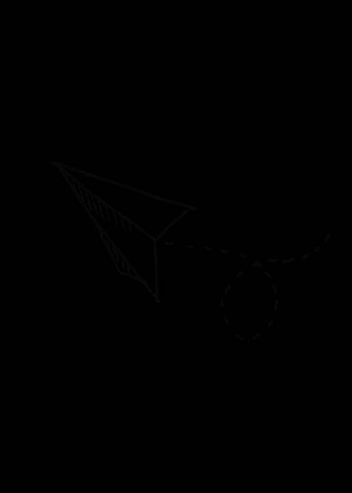 Render Avión de papel