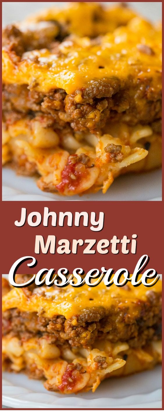 Johnny Marzetti Casserole - Slow Cooker or Oven!