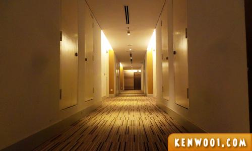 novotel hotel hallway