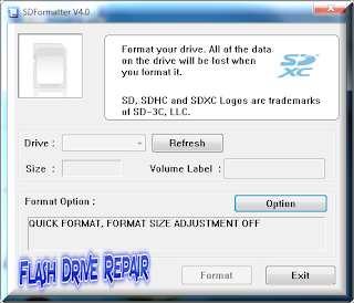 The Best SD formatter V4 Software to format SD card ,SDHC and SDXC