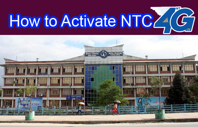 How to Activate NTC 4G in NTC sim? Easy way !! - Hamro Record