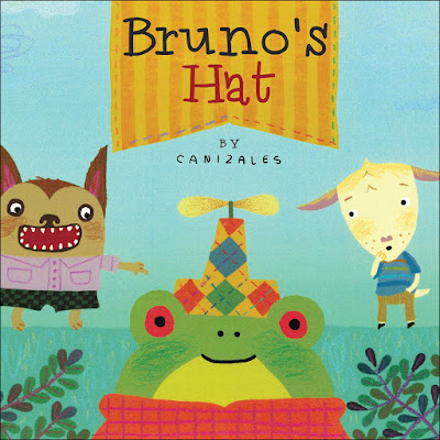 Told from Peter's perspective, Bruno's Hat offers kids a realistic view of how friends act when someone is being teased. Friends don't always make the best choices. Friends can sometimes hurt someone's feelings too. But friends can apologize and make the situation better. #brunoshat #picturebook #childrenslit #childrensfiction