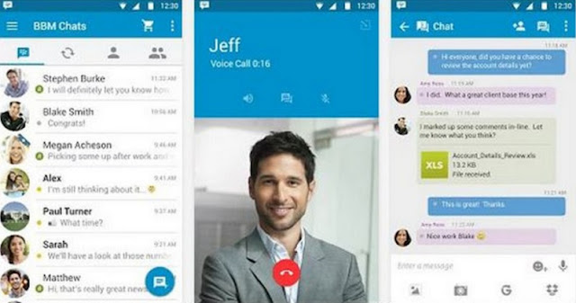 download Update BBM Messenger Versi 2.13.0.22 Apk Terbaru Bulan Maret