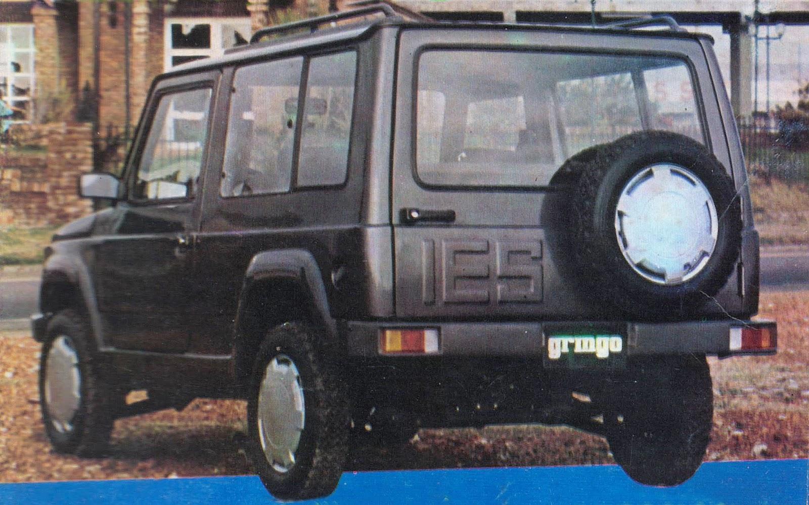 Archivo de autos: Gringo, el jeep que no fue