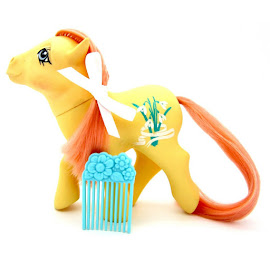 My Little Pony Snowdrop Year Eight Flower Ponies G1 Pony