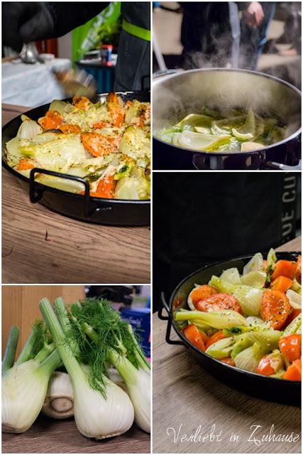 Grillseminar Steingrobe Grill-Rezept Fenchel Tomaten Gemüse