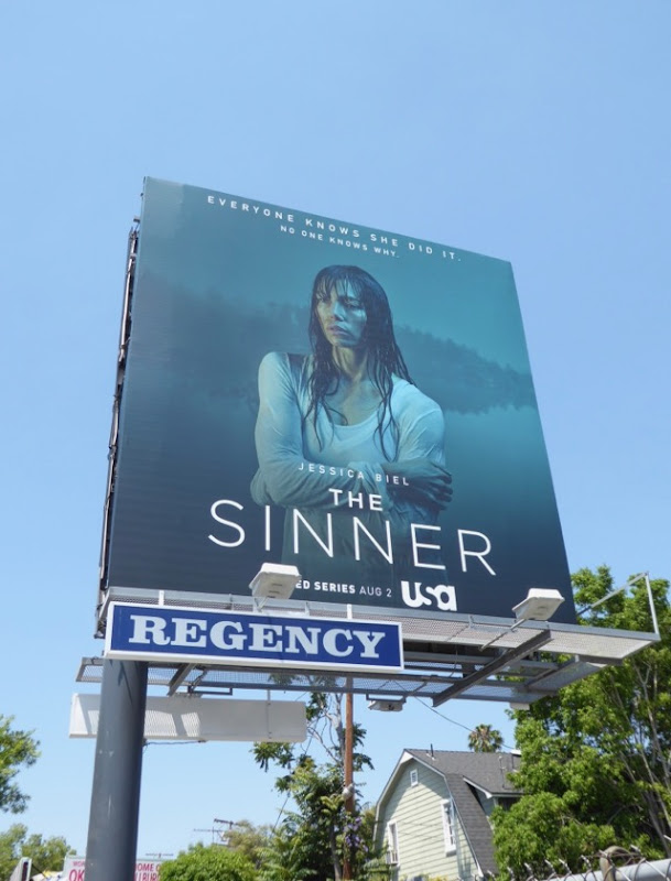 Sinner series launch billboard