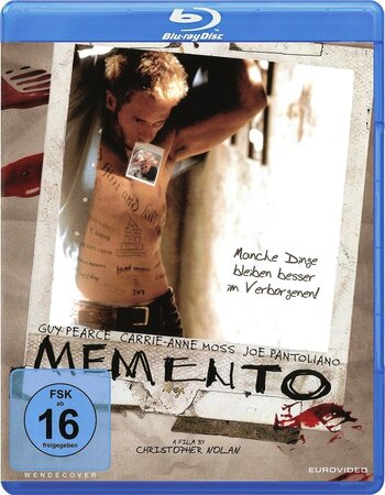 Memento (2000) Dual Audio Hindi 480p BluRay x264 350MB ESubs Movie Download