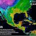 Se pronostican lluvias fuertes para Coahuila, Nuevo León, San Luis Potosí, Veracruz y Tamaulipas.