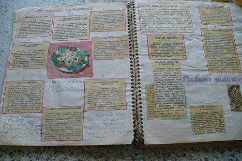 кулинарные рецепты, как хранить